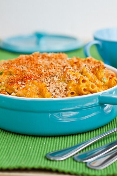 Dairy-free (and cheese-free) Mac & Cheese