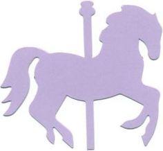 carousel horse clipart image pink carousel horse in silhouette rh pinterest com au Carousel Horse Drawings cute carousel horse clipart