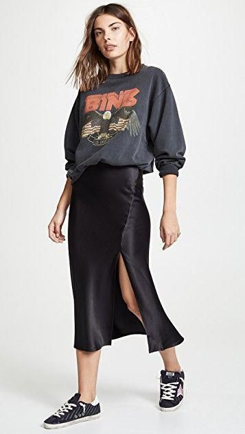 Dolly Silk Skirt - All About