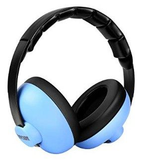 BBTKCARE Baby Ear Protection Noise Cancelling Headphones for Babies for 3 Months to 2 Years Blue
