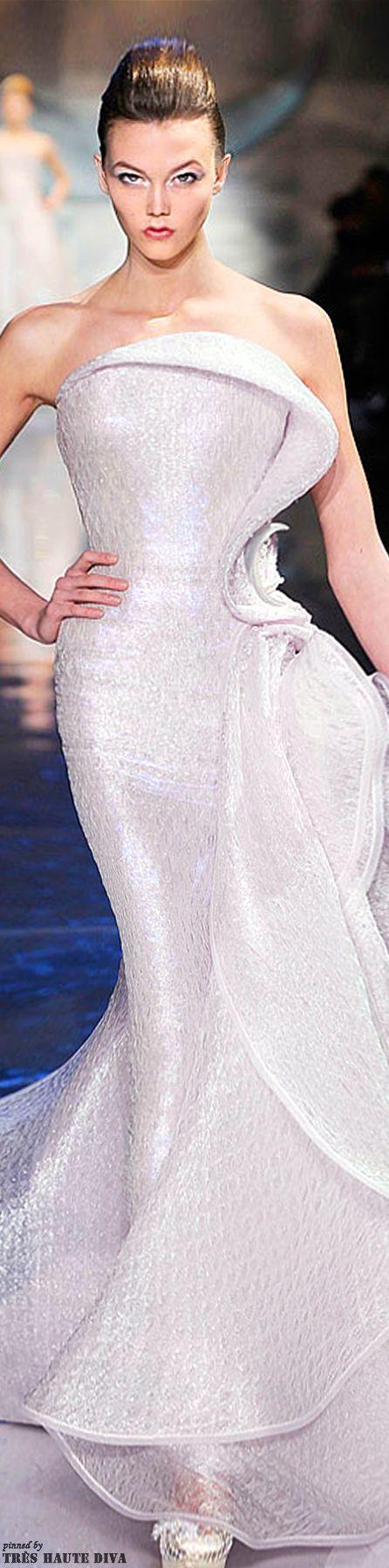 Glamour gowns / karen cox.  Armani Privé