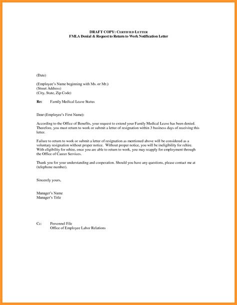 Doctor Letter For Workmple Return Work From Business Letterhead
