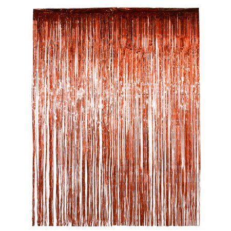Party Occasions Curtain Backdrops Rose Gold Foil Wedding Wall Decorations