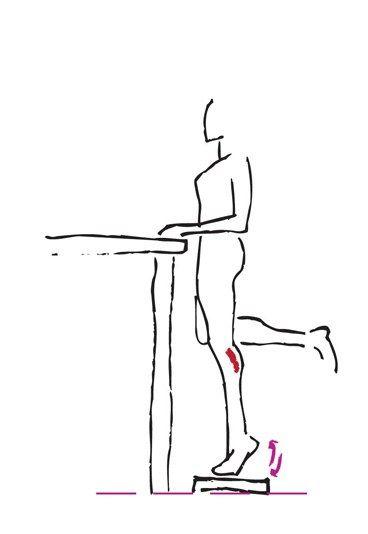 Übung für schlanke Waden - Die besten Bauch-Beine-Po-Übungen