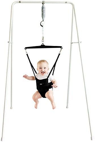 Jolly Jumper On A Stand For Rockers By Jolly Jumper Baby Rocker Best Baby Bouncer Baby Bouncer