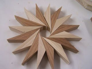 Pin Wheels or a new take on the 3D Multi Generation Diamond Lamination Design #FunWoodworkingProjects