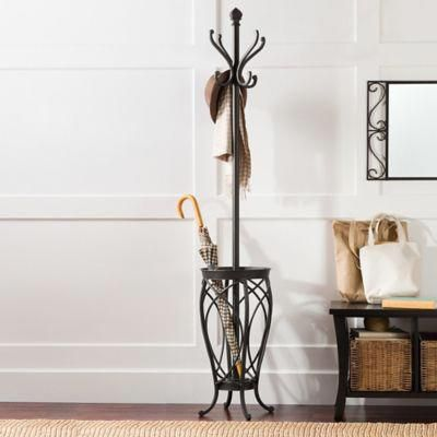 Sleek And Chic The Ampersand Charleston Standing Coat Rack Will Enhance The Look And Functionality Of Standing Coat Rack Diy Coat Rack Free Standing Coat Rack