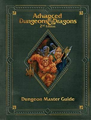 Premium 2nd Edition Advanced Dungeons Dragons Dungeon Master S Guide D D Core Rulebook Wizards Dungeon Master S Guide Dungeons And Dragons Dungeon Master