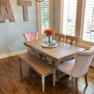 Tremendous Bradding Natural Stonewash 84 Dining Table Interior Ocoug Best Dining Table And Chair Ideas Images Ocougorg