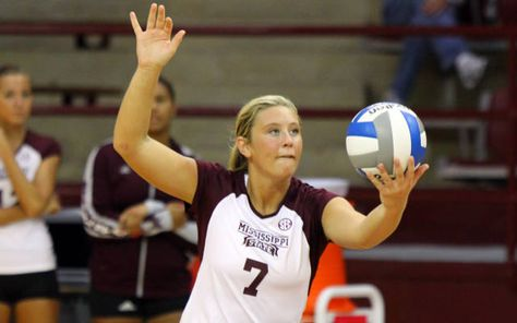 Katie Enright Mississippi State University Mississippi State Volleyball