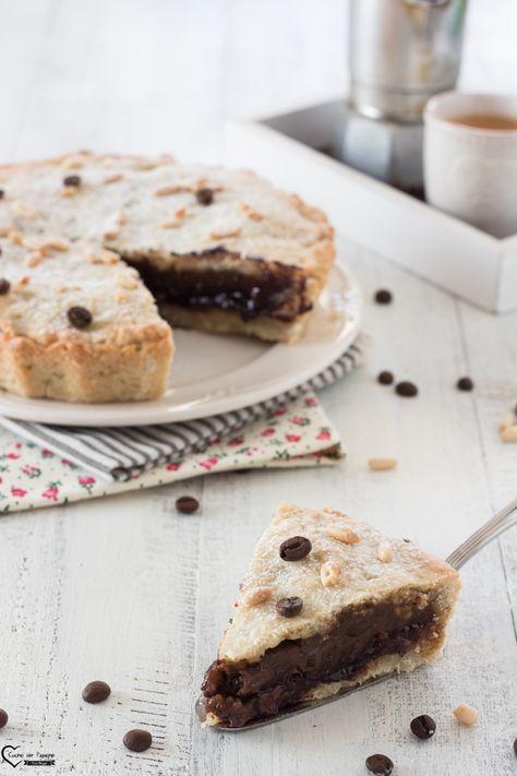 Torta Della Nonna Al Caffè Gustosa E Molto Facile Da Fare Torta Al