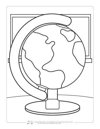 Coloring Page For Kids Back To School Coloring Pages For Kids Itsy Bitsy Fun School Coloring Pages Coloring Pages Free Coloring Pages