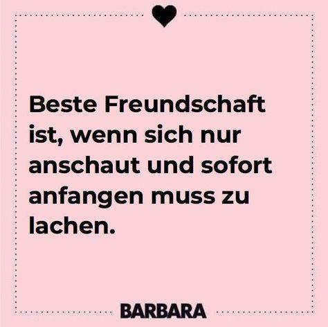 Beste Freundschaft ist, wenn man sich nur anschaut und sofort anfangen muss zu lachen. Sprüche für die beste Freundin #zitate #sprüche #freundschaft #auf #die #freundinnen #freundschaft #für #prost #quotes #quotes funny #spruche #witzige