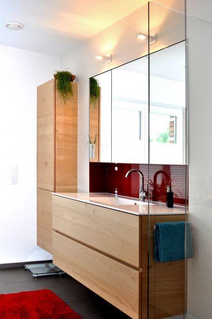 badezimmer-holzwand-1 | Badezimmer | Pinterest | Badezimmer ... | {Badmöbel modern design 81}