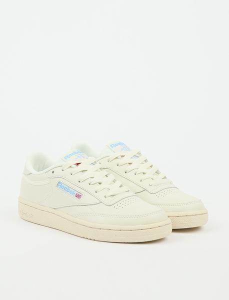 8f103ab5 Reebok Club C 85 - Chalk/Paperwhite/Athletic Blue/Excellent Red in ...