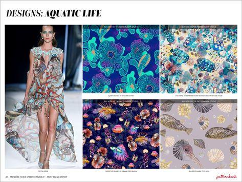 Première Vision Spring/Summer 2019 Print & Pattern Trend Report - Patternbank