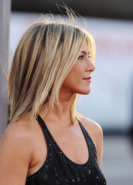 Hair Color Longbob In 2020 Jennifer Aniston Short Hair Jennifer Aniston Hair Short Hair Styles