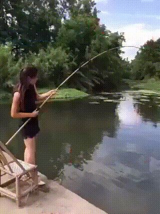 Fishing gone wrong  funny pics, funny gifs, funny videos, funny memes, funny jokes. LOL Pics app is for iOS, Android, iPhone, iPod, iPad, Tablet