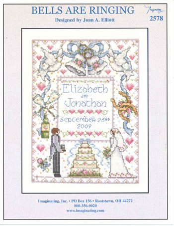 Marriage Keepsakes Samplers Counted Cross Stitch Chart Leisure Arts