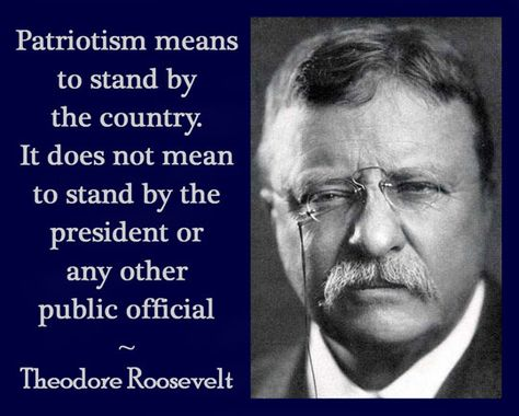 Agreed.  I'd love to resurrect Theodore Roosevelt and Ronald Reagan and let them clean up the current mess!