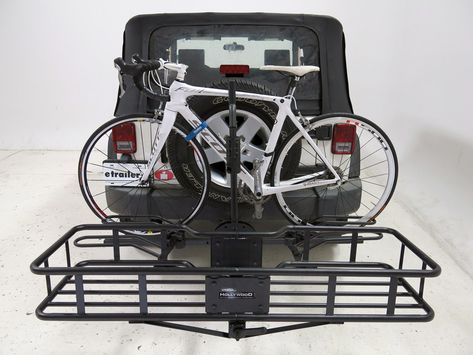 Hollywood Racks Sport Rider SE Platform 4 Bike Rack w  Cargo Carrier - 2