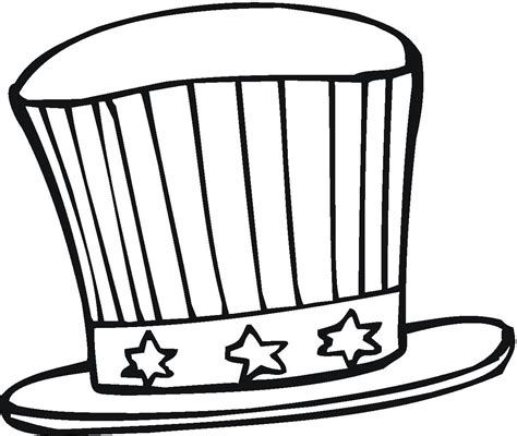 Hat Coloring Pages Best Coloring Pages For Kids Coloring Pages For Kids Coloring Pages July Colors