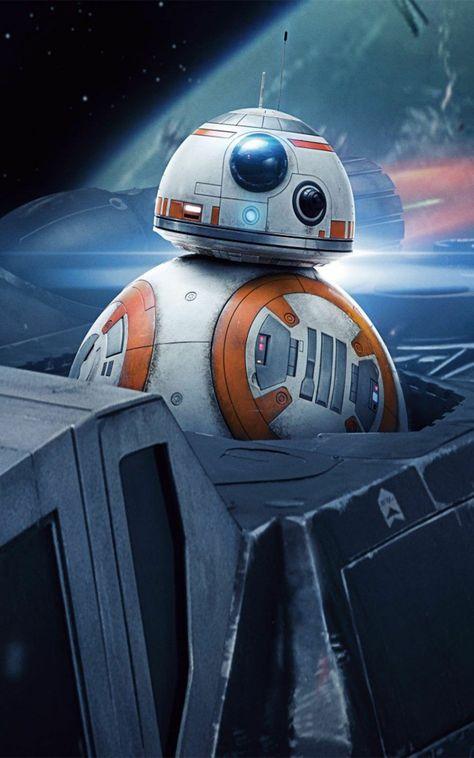 Star Wars BB8 movie mobile phone wallpaper