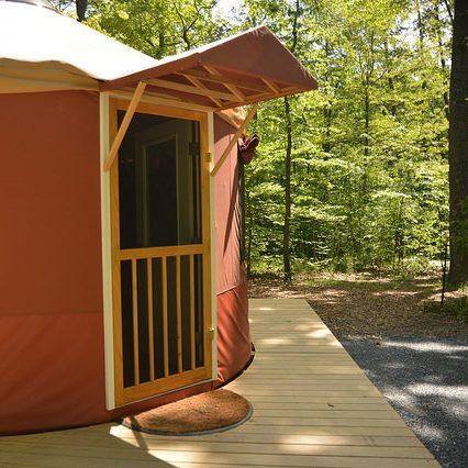 Little Bennett Campground Yurts Montgomery Parks Campground Park The Perfect Getaway