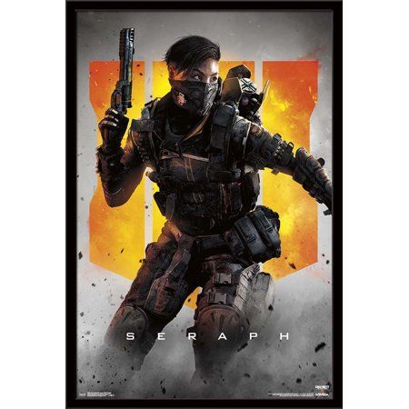 Call Of Duty Black Ops 4 Seraph Key Art In 2019 Products