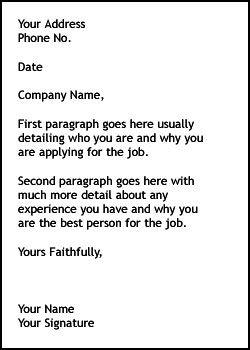 Cover Letter Templates  Job Basics    Letter