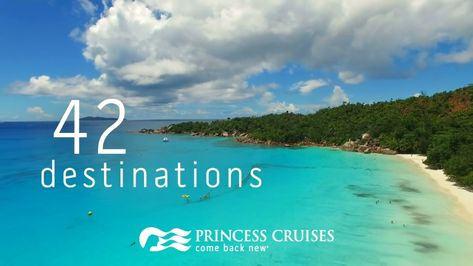 Ultimate travel bucket list: A world cruise with Princess.
