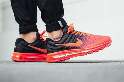 Nike Air Max 2017 (Bright Crimson) | Nike air max, Nike air