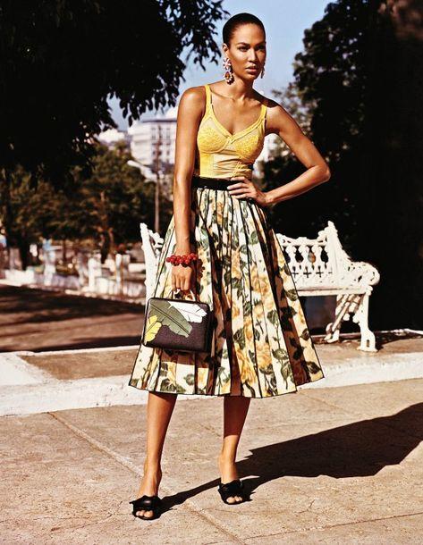 Adriana Lima, Joan Smalls Get Sexy in Havana, Cuba