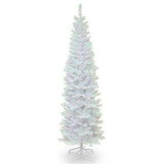 National Tree Company 7 Ft Tinsel Christmas Tree Tinsel Christmas Tree Tinsel Tree Pre Lit Christmas Tree