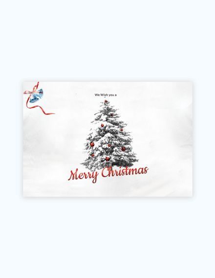Simple Christmas Card Template Free Jpg Word Outlook Apple Pages Psd Publisher Template Net Christmas Card Template Christmas Card Templates Free Simple Christmas