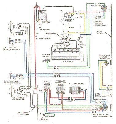 1963 Bel Air Wiring Diagram