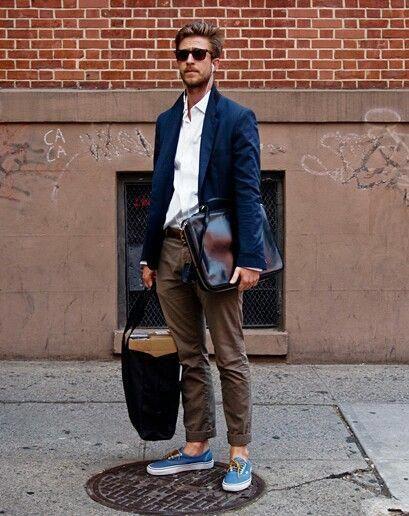 Blazer Sungles Brown Pants