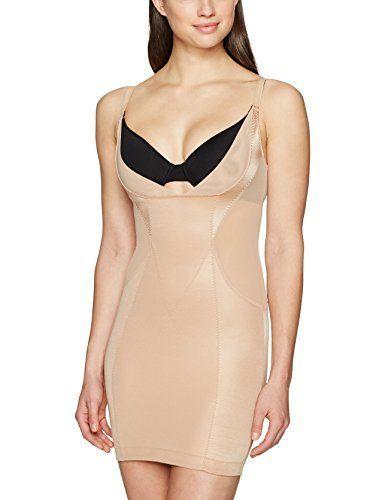 Shapewear Dress Slimming Slip Full Slip Spanx Slimplicity Open-Bust Full Slip