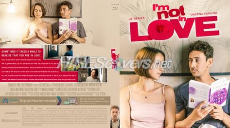 DVD Cover Custom DVD covers BluRay label movie art - Blu-ray CUSTOM Covers - I / I'm Not In Love (2021)