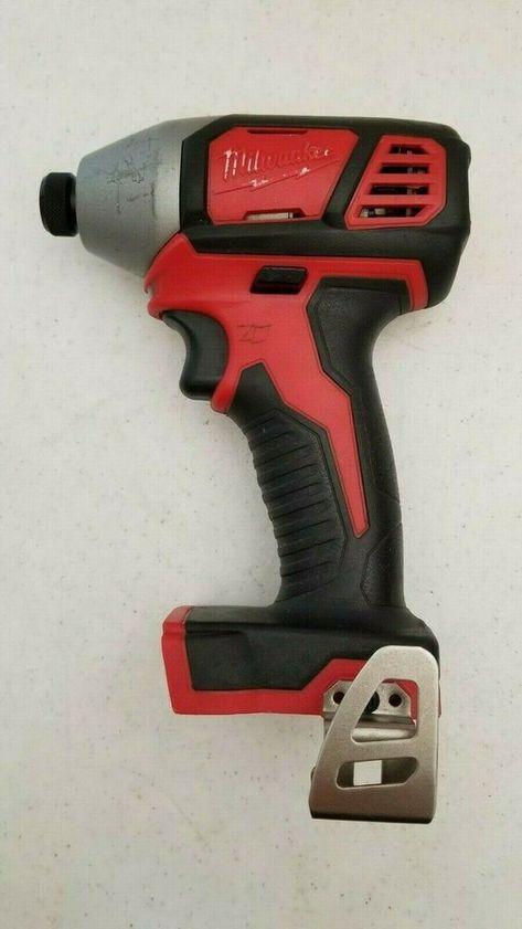 "New M18 Milwaukee 2656-20 1//4/"" Cordless Battery Hex Impact Driver 18 Volt 18V"