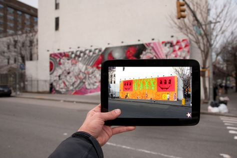 1 | Rethinking Public Space: B.C. Biermann's Augmented Reality Urban Art | Co.Create: Creativity \ Culture \ Commerce