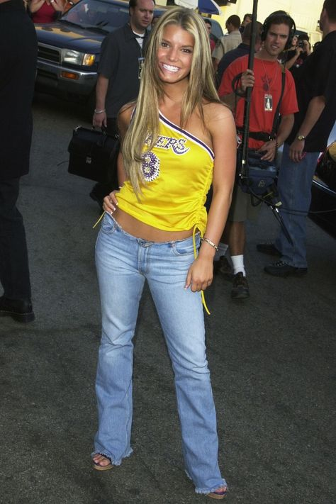 Scroll on to see how jeans and denim trends have changed through the years—and also how they haven't. Also, you'll prob see some familiar faces in there!