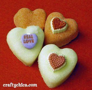 Sugar Sweet Hearts - an edible Valentine's Day craft from @Kathy Chan Cano-Murillo