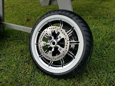 Sponsored Ebay Harley 10 Spoke Impeller Front Wheel Motorcycle Parts And Accessories Things To Sell Harley Davidson Touring