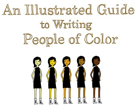 An Illustrated Guide To Writing People Of Color