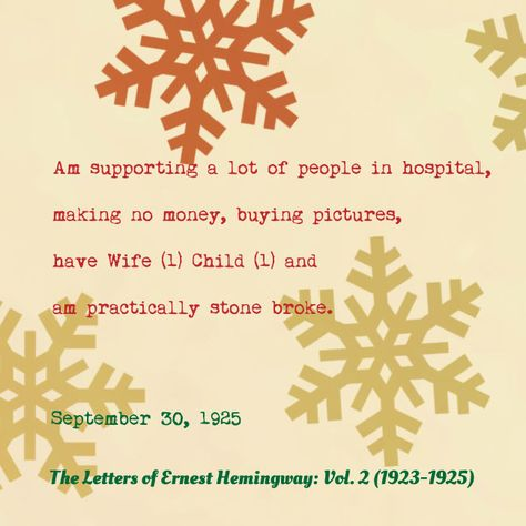Hemingway's holiday wish list   FifteenEightyFour   Cambridge University Press