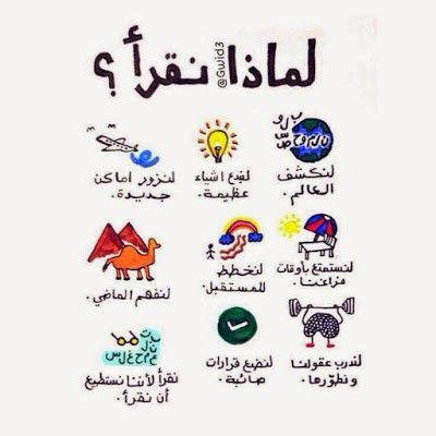 أهمية القراءة وفوائدها المتعددة للشباب والأطفال Life Lesson Quotes Book Qoutes Learn Arabic Alphabet