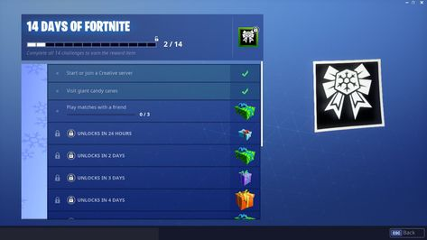 How To Complete The Day 3 14 Days Of Fortnite Challenge On December