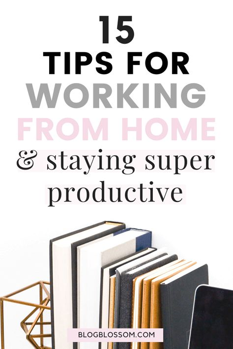 Having trouble staying productive at home? Here are 15 tips for working from home that will help you be more productive and stay motivated as your own boss. Stay motivated Stay-motivated Daily motivation Health and fitness Healthy lifestyle tips Nutrition Education Natural remedies Workout exercises Health tips Natural home remedies Health care Fit quotes Health and wellness Fit bodies Fitness Gym humor