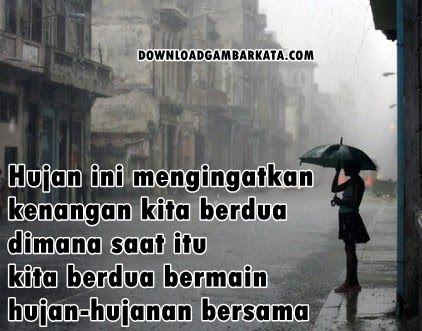 Kata Mutiara Lucu Saat Hujan